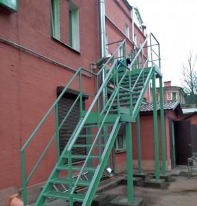 лестница маршевая П2
