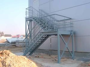 Эвакуационная лестница п2