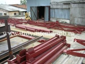 производство металлоконструкций спб