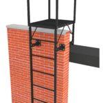 Пожарная лестница П1-1 ГОСТ 53254-2009
