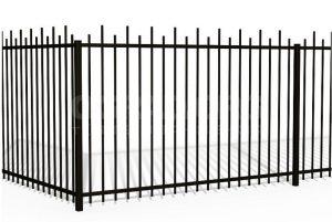 Сварной металлический забор в санкт-пеьербурге
