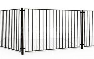 забор металлический купить