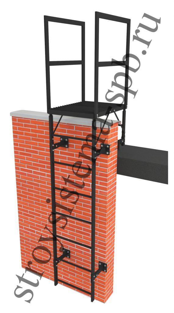 Пожарная лестница П1-1